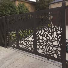 China Laser Cut Decorative Room Divider Stainless Steel Screen Panel Metal Screen For Elevator China Aluminum Fence Laser Cutting Screen