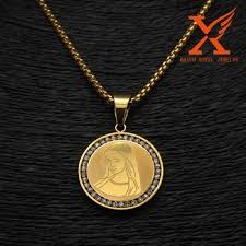 stainless steel jewelry gold plated