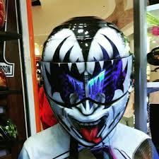40 coolest motorcycle helmet art design