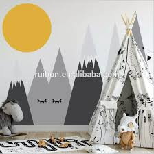 Mountains Woodland Baby Nursery Wall Decal Nursery Decor Removable Wall Decal Sticker For Kids Room Nursery Buy Mountains Woodland Wall Stickers Nursery Decor Wall Sticker Decorative Wall Sticker Product On Alibaba Com