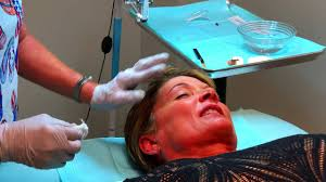 permanent makeup application using the