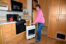 install a vent free propane heater in an rv