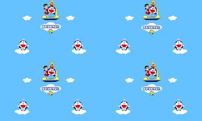 Ngộ nghĩnh với giấy dán tường Doraemon