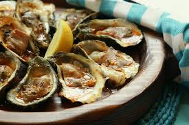 Char-Grilled Oysters with Aged Country ...