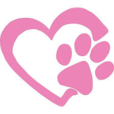 Hbarsci Heart Paw Print Vinyl Decal 5 Inches For Cars Trucks Windows Laptops Tablets Outdoor Grade 2 5mil Thick Vinyl Soft Pink Buy Products Online With Ubuy Maldives In Affordable Prices B07lgcblqk