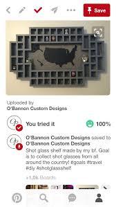 usa shot glass display 1000 pins o