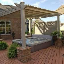 Diy Hot Tub Privacy 25 Inspiring Designs That You Can Try Easily