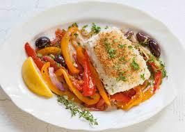 Baked Halibut with Vegetables {Quick ...