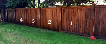 Wood Fence How To Stain A Wood Fence