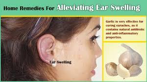 ear swelling pain removing earwax