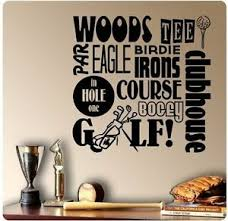 24 Golfing Golf Sayings Tee Birdie Iron Hole Bogie Par Wall Decal Sticker Sport 700755855831 Ebay