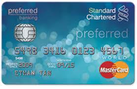 10 best standard chartered credit cards