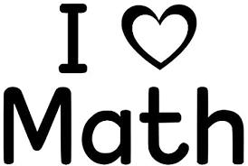 Amazon Com I Love Math Classroom Decorative Wall Decal Sticker 6 5 H X 12 W Black Or White Arts Crafts Sewing