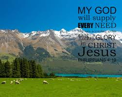 Philippians 4:19 God Will Supply All Your Needs - Free Art ...