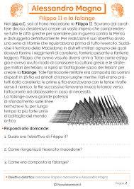 Alessandro Magno: Schede Didattiche per la Scuola Primaria ...