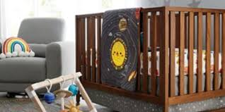 Space Theme Nursery Crate And Barrel