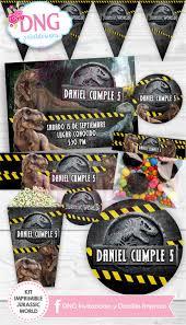 Jurassic World Invitaciones Imprimibles Invitaciones Invitaciones Imprimibles Kit Imprimible Jurassic World