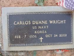Carlos Duane Wright (1936-2002) - Find A Grave Memorial