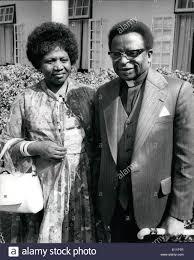 Jun. 06, 1979 - Bishop Muzorewa Becomes The First Black Prime Stock Photo -  Alamy