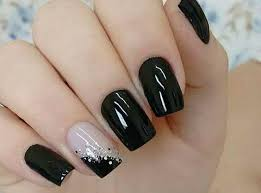 80 incredible black nail art designs