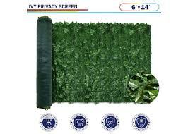 6ft X 14ft Ivy Leaf Decorative Fence Screen Windscreen4less