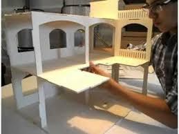 construire une maison de poupée rosine