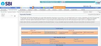how to transfer funds via imps neft to