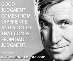 will rogers quotes experience quotesgram