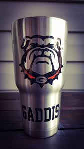 Uga Secondary Logo Vinyl Decal Great Gift For The Man In Your Life Or Any Dawg Fan Perfect For Any Size Tu Vinyl Decals Silhouette Projects Silhouette Design