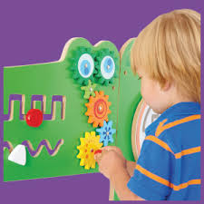 Amazon Com Learning Advantage 50346 Crocodile Activity Wall Panels 18m In Home Learning Activity Center Wall Mounted Toy For Kids Toddler Decor For Play Areas Industrial Scientific