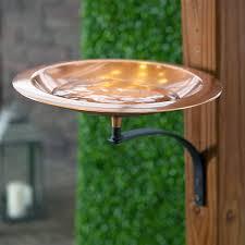 Achla Classic Ii Bird Bath With Mounting Bracket Copper Birdbaths Decorative Bird Baths At Songbird Garden
