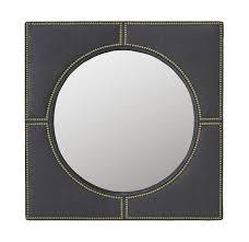 a beautiful round convex acrylic mirror