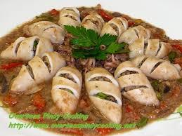 Stuffed Squid in Oyster Hoisin Sauce ...