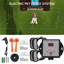 2019 New X881b Underground Electric Dog Pet System Alarm Shock Training Collar Waterproof Rechargeable Dog Collar 200m Big Wire Aliexpress