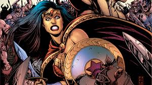 FIRST LOOK: LEGENDS COLLIDE IN NEW WONDER WOMAN/CONAN CROSSOVER
