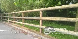 Mcnamara Fencing Post Half Round Rail Fence Mcnamara Fencing Garden Fence Backyard Fences Rail Fence