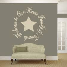 Shop Welcome To Our Home Friends Family Wall Decal 48 Wide X 48 Tall Overstock 12853029