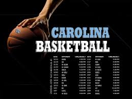 photo 2008 09 unc basketball schedule
