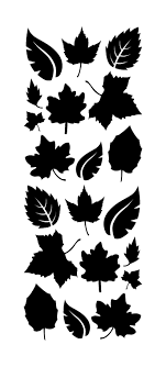 Leaves Wall Decals Leaf Wall Stickers Whimsi Decals Whimsidecals