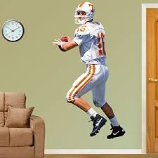 Tennessee Volunteers College Sports Fathead Official Site Fathead Peyton Manning Nfl