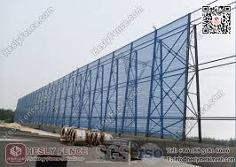 China Wind Dust Suppressing Fence Hesly Windbreak Fencing Wall System