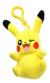 TOMY Pokemon 3 Inch Plush Clip On - Pikachu - Buy Online in Cote D' Ivoire.  | [missing {{category}} value] Products in Cote D' Ivoire - See Prices,  Reviews and Free Delivery over 40,000 CFA