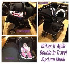 britax b agile double pushchair