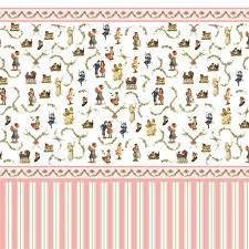 dolls house wallpaper free printable