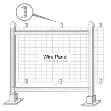 Snapfence White Modular Vinyl Fence Rail Clip 100 Box Vfw 1 B100 The Home Depot
