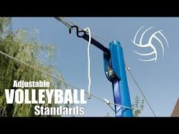 diy volleyball net standards portable