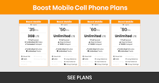 boost mobile plans s features