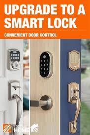 high tech smart locks at the home depot