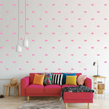 Cloud Wall Decals Pattern Vinyl Wall Wall Art