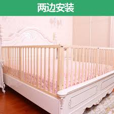 Baby Solid Wooden Bed Fence Bed Guardrail For Children 1 8m 2m Baby Protective Fence